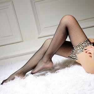 Miss Babydoll Accessories - ❤️NEW Sexy Leopard Fishnet Stockings #S4113
